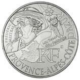 10 euros argent Provence-Alpes-Côte d'Azur 2012