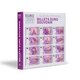 """Album imprimé pour billets """"euro souvenir"""" tome 1"""