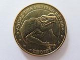 Médaille MDP Thoiry. Parc et château. Arche des petites bêtes. La grenouille 2013