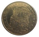 Médaille MDP Citadelle de Besancon Face cerclée  2006