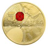 50 euros Excellence à la française Baccarat 2014 en or 1/4 oz