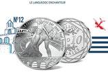 10 euros argent Le Languedoc enchanteur 2017