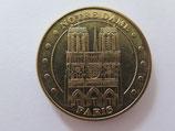 Médaille MDP Paris. Vedettes du Pont-Neuf. Notre-Dame. Façade 2013