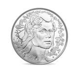 20 euros BE Marianne Fraternité 2019 en argent