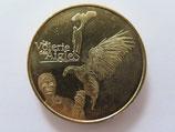 Médaille MDP Kintzheim. La volerie des aigles. Le fauconnier 2012