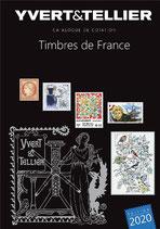 Catalogue Yvert et Tellier TOME 1 et TOME 1 bis  - 2020 Timbres de France et Monaco