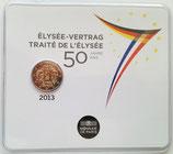 2 euros Traité de l'Elysée BU 2013