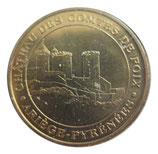 Médaille MDP Ariège Pyrénées Château des Comtes de Foix 2006