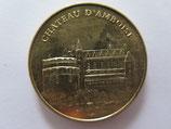 Médaille MDP Amboise. Château royal d'Amboise. Vue d'ensemble 2011