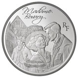 10 euros argent Madame Bovary 2013