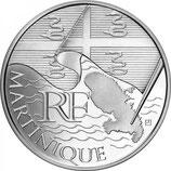 10 euros argent Martinique 2010