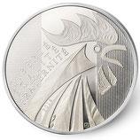 10 euros argent Coq 2014