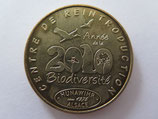 Médaille MDP Hunawihr. Centre de réintroduction. 2010 Année de la biodiversité 2010