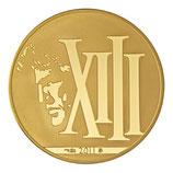 50 euros XIII 2011 en or 1/4 oz