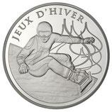 10 euros argent Snowboard JO d'hiver 2013