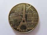 Médaille MDP Paris. Les 5 monuments 2013