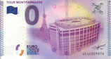 Billet touristique 0€ Tour Montparnasse 2015