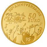 50 euros Europa 2011 en or 1/4 oz