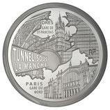 10 euros argent Gare du Nord Saint Pancras 2013