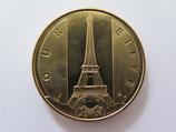 Médaille MDP Paris. Tour Eiffel. Le drapeau 2013