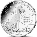 10 euros argent Astérix Fraternité Danois 2015
