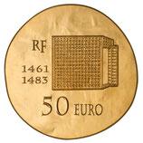 50 euros Louis XI 2013 en or 1/4 oz