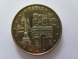Médaille MDP  Paris. Les 4 monuments 2008
