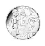10 euros argent Petit prince et les peintres 2016