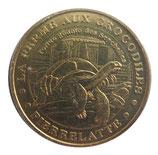 Médaille MDP Pierrelatte La ferme des crocodiles (tortue géante des Seychelles) 2007