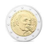 2 euros Mitterrand BE 2016