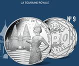 10 euros argent La Touraine royale 2017