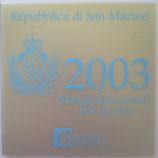 Brillant universel Saint Marin 2003