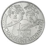 10 euros argent Champagne-Ardenne 2012