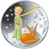 50 euros argent Petit prince Renard 2016