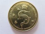 Médaille MDP Chambord. Château de Chambord. La Salamandre. Nutrisco et Extinguo 2012