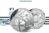 10 euros argent La Bretagne pêchue 2017