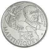 10 euros argent Martinique 2012