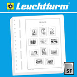 Feuilles Leuchtturm timbres Berlin - Paires horizontales (23 BP) 1956-1990 (331 403)