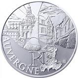 10 euros argent Auvergne 2011