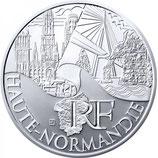 10 euros argent Haute-Normandie 2011