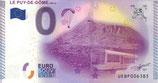 Billet touristique 0€ Le Puy de Dome 2015