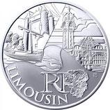 10 euros argent Limousin 2011