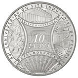 10 euros argent Semeuse MetalMorphose Pessac 2013