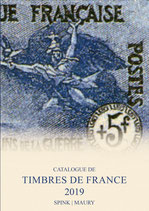 Catalogue Maury France - 2019 Timbres de France