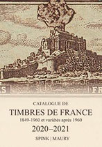 Catalogue Maury France - 2020-2021 Timbres de France