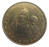 Médaille MDP Collegiale de Saint Paul Vierge à l'enfant 2005
