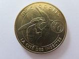 Médaille MDP Saint Leons. Micropolis. La cité des insectes. L'abeille 2013