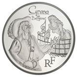 10 euros argent Cyrano 2012