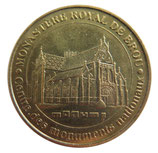 Médaille MDP Centre des monuments nationaux Monastère royal de Brou 2007