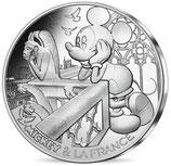10 euros argent Mickey Notre Dame de Paris 2018 13/20